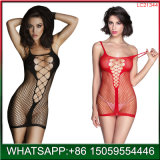Costumes sexy Womens Mesh robe lingerie résille Nuisette Perspective Minidress Nighties Lingerie