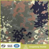 Do algodão verde do poliéster do exército tela Khaki do uniforme militar para o revestimento ou a camisa