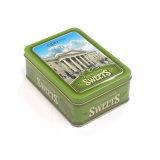El metal de embalaje de regalo dulces tin box