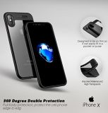 Crystal Clear Minimalist Transparent PC Back Phone Puts for iPhone 8