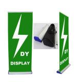 Buen precio de aleación de aluminio Roll up Stand Display Banner Standee