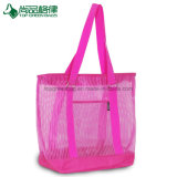 Élégant sac fourre-tout coloré Shopping maille polyester Sac shopping Net