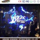 P7.81 LED interior com exibição de publicidade transparente