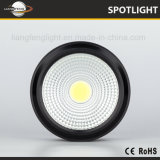 Autre logement de la lampe de plafond incliné vers l'option Color Ce COB 5W à LED Spotlight de surface