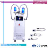 Professional 4 poignées Fat Loss Cryolipolysis Slimming Machine