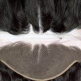 Chiusura brasiliana del Frontal del merletto dei capelli umani dell'onda 13X4 del corpo
