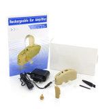Appareil auditif rechargeable de vente chaud d'amplificateur d'oreille pour la perte d'acuité auditive