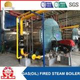 Горизонтальный боилер подогревателя воды природного газа для завода молока
