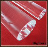 Borrar el cuarzo polaco fundido Rod de cristal de la silicona