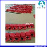 Wasserdichte RFID Dichtungs-Marke mit Stahldraht für Waren schützen sich