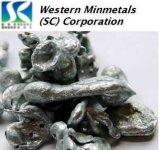 99.99999% zink bij Bedrijf het Westelijke van MINMETALS (Sc)