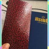 Vermelho do produto novo de Hsinda/Greem/revestimento do pó do pulverizador do tom martelo do ouro