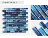 Baldosas mosaico de vidrio azul piscina piscina mosaico