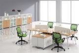 4 Personen-Sitze weiß und moderner Arbeitsplatz (SZ-WS178)