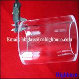 Поставщик стеклянной лампы кварца толщины стены ясности высокой очищенности