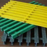 Reja ignífuga del acoplamiento Grating/GRP de Pultruded de la fibra de vidrio de FRP GRP