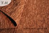 Tela de Chenille lisa 310GSM do sofá de Brown