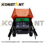 Трактор пальмового масла Dumper Konstant Eelctrical миниый с зеленым электричеством
