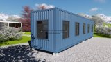40FT Modular Prefabricated Prefab Modular Shipping Container House for Plantation