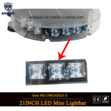 Hohe helle LED Sicherheit MiniLightbar (TBG-503LE-3) des neuen Entwurfs-Objektiv-