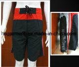 Shorts da placa do poliéster do desgaste de Swimminng para o homem/mulheres