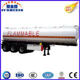 Essence de 3 essieux/diesel/pétrole/essence/de camion-citerne/réservoir de camion d'entraîneur remorque de service semi à vendre