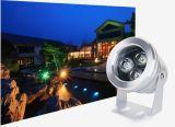 proyector impermeable al aire libre de 3W LED para el paisaje