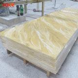 Comitato di parete di superficie solido acrilico di pietra traslucido