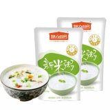 Alimento conveniente de las gachas de avena del arroz de la cocina del amor