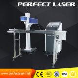 Voos de alta velocidade máquina de marcação a laser de CO2 com linha de produção