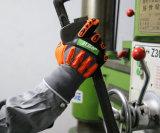Le nitrile Anti-Impact feux chauds gants de travail d'hiver mécanique avec TPR