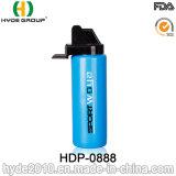 Food Grade 1000 мл PE пластиковые спорта со сдавливаемой трубой и бутылка воды (ПВР-0888)