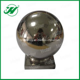 Esfera redonda da esfera da parte superior do corrimão do aço 304 inoxidável