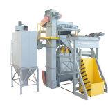 청소 장비를 Dedusting 탄 /Sand 폭파 기계 크롤러