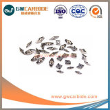 De carburo fresado CNC indexables girando inserta