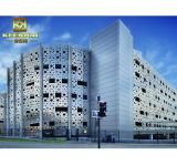Metallbaumaterial-im Freienfassade-Panel-Aluminiumwand-Umhüllung