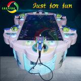 Sosta dell'oceano dei giocatori di Easyfun 6 che oscilla la macchina del gioco di pesca del Rod