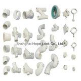 Instalaciones de tuberías blancas del PVC ASTM Sch40