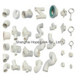 Garnitures de pipe blanches de PVC ASTM Sch40