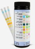 Striscia UR-10 dell'esame delle urine di dieci parametri