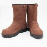 オックスフォードが付いているスエードのLeaterの安全靴かゴムOutsoleまたは作業靴または履物