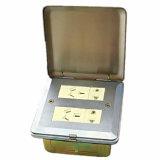 Soquete quadrado do assoalho dos acessórios da função da prata 4gang 118type