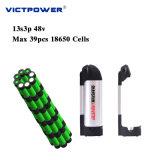 電気バイク電池48V 10.2ahのリチウムイオン電池のパック