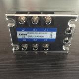 Chargement 24-480VAC Relay&#160 semi-conducteur triphasé de l'entrée 80-280VAC de Tsr-40AA ;