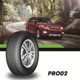 Neumático radial sin tubo del neumático de la polimerización en cadena del neumático del coche de la alta calidad