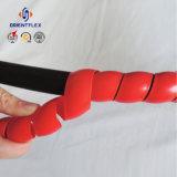 Coperchio idraulico a spirale del manicotto della protezione della protezione del tubo flessibile dell'involucro di plastica dei pp