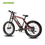 [250و] إطار العجلة سمينة درّاجة شعبيّة كهربائيّة يجعل في الصين مع [أم] قدرة