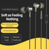 Het in-oorHoofdtelefoon van het metaal met Diverse Kleuren voor iPhone