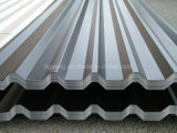 長いスパンのAluzincの上塗を施してある屋根シートの波形のGalvalumeの金属の屋根ふき