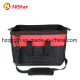 鋼線の開いた口および堅いベースが付いているMulitifunctionポリエステル道具袋のショルダー・バッグ